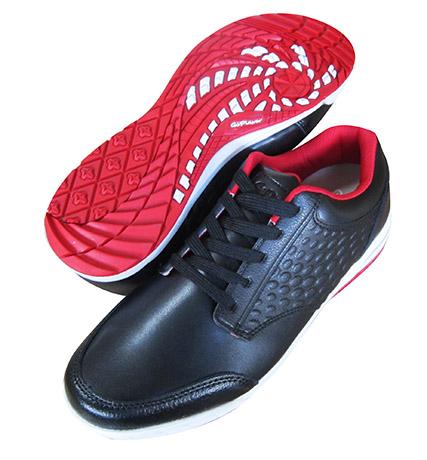 高爾夫兩用鞋(黑配紅底)
